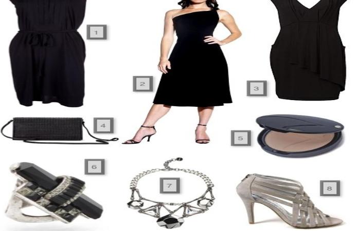 accessorize a black dress